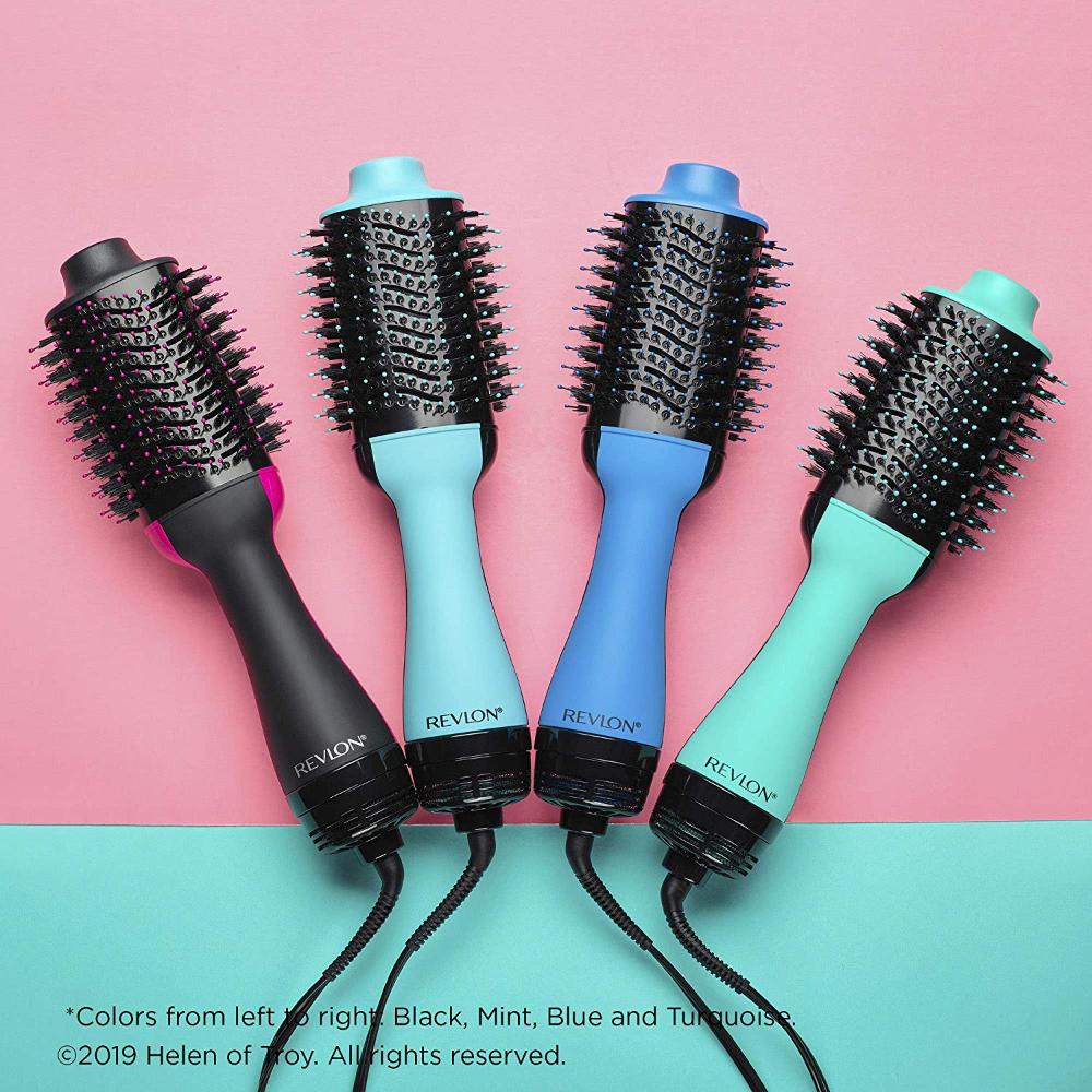 Revlon One Step Hair Dryer Volumizer Hot Air Brush Black Hair Dryer Revlon Salon Blowout