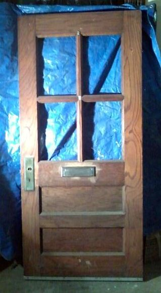 Antique oak door c1890 with original mail slot for sale vintage antique oak door c1890 with original mail slot for sale planetlyrics Images