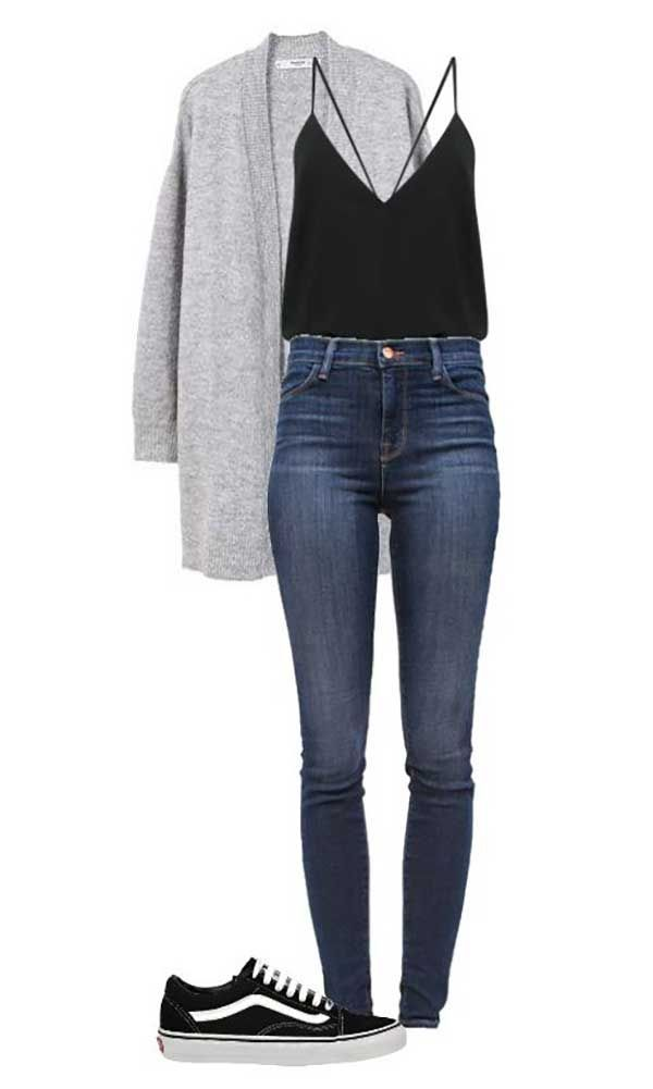 20+ Casual Outfits with Sneakers