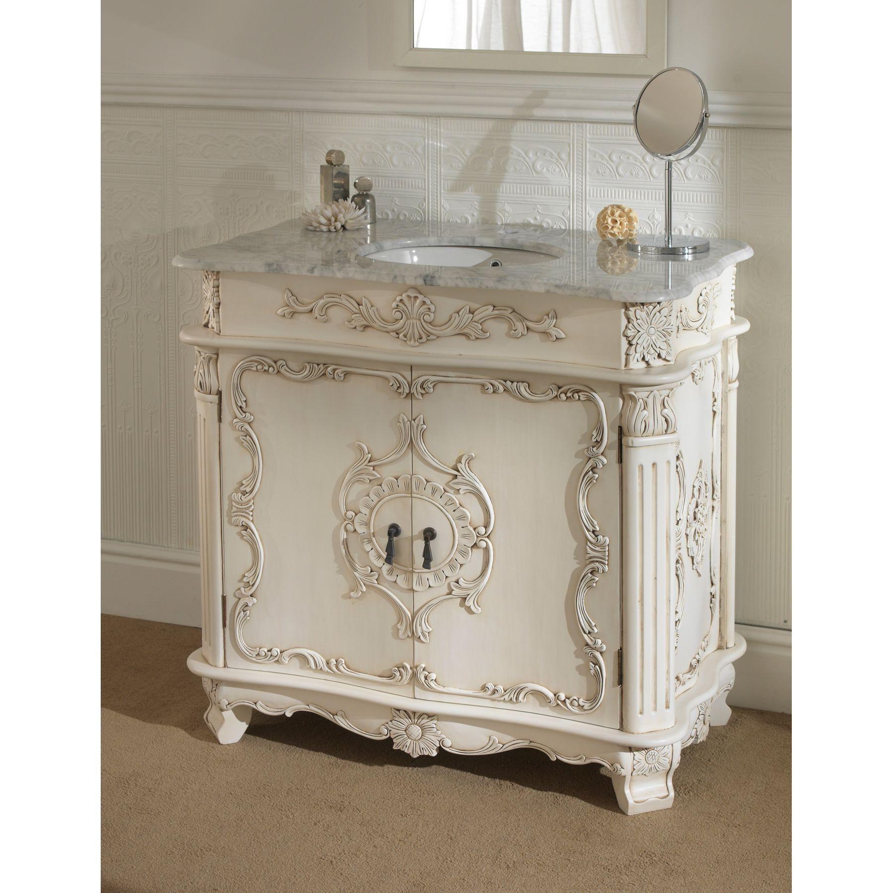 Antique Looking Bathroom Vanities Antique French Vanity Unit
