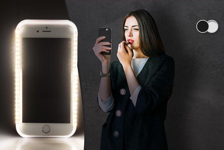 iphone 6 light up selfie case