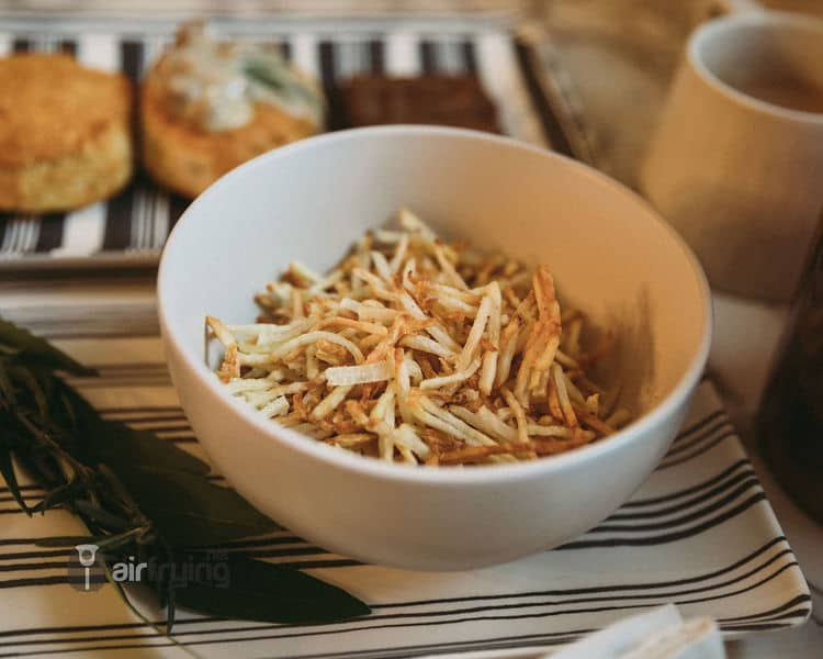 Frozen Hash Browns in Air fryer • Air Fryer Recipes