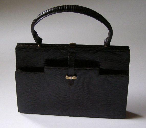 c77a7c9025 Sac à Main vintage en lézard | beautiful bag / j'aime les sacs ...