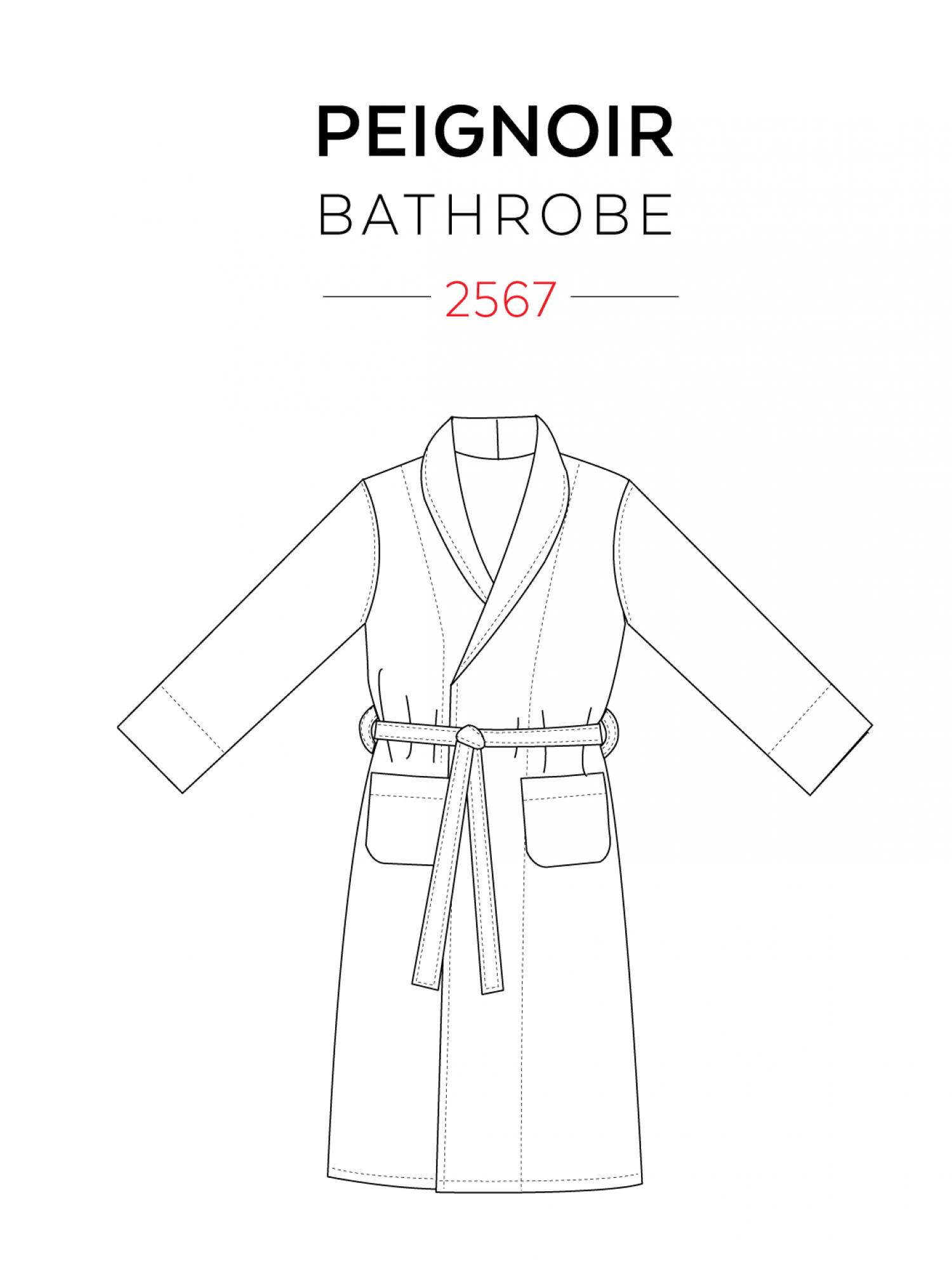Bathrobe | Costura, Molde y Ropa