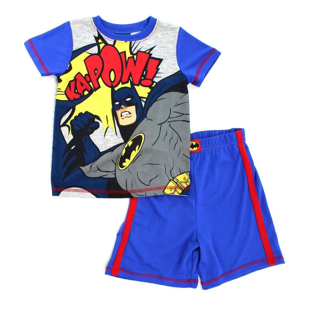 Shorts and Pants 3-Piece Set DC Comics Boys Justice League Shirt