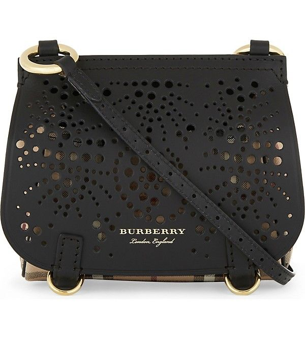 BURBERRY - Bridle baby leather cross-body bag  70a7596976e63