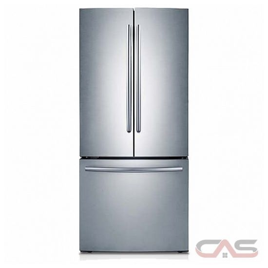 Samsung Rf220nctasr French Door Refrigerator 30 Width Freezer