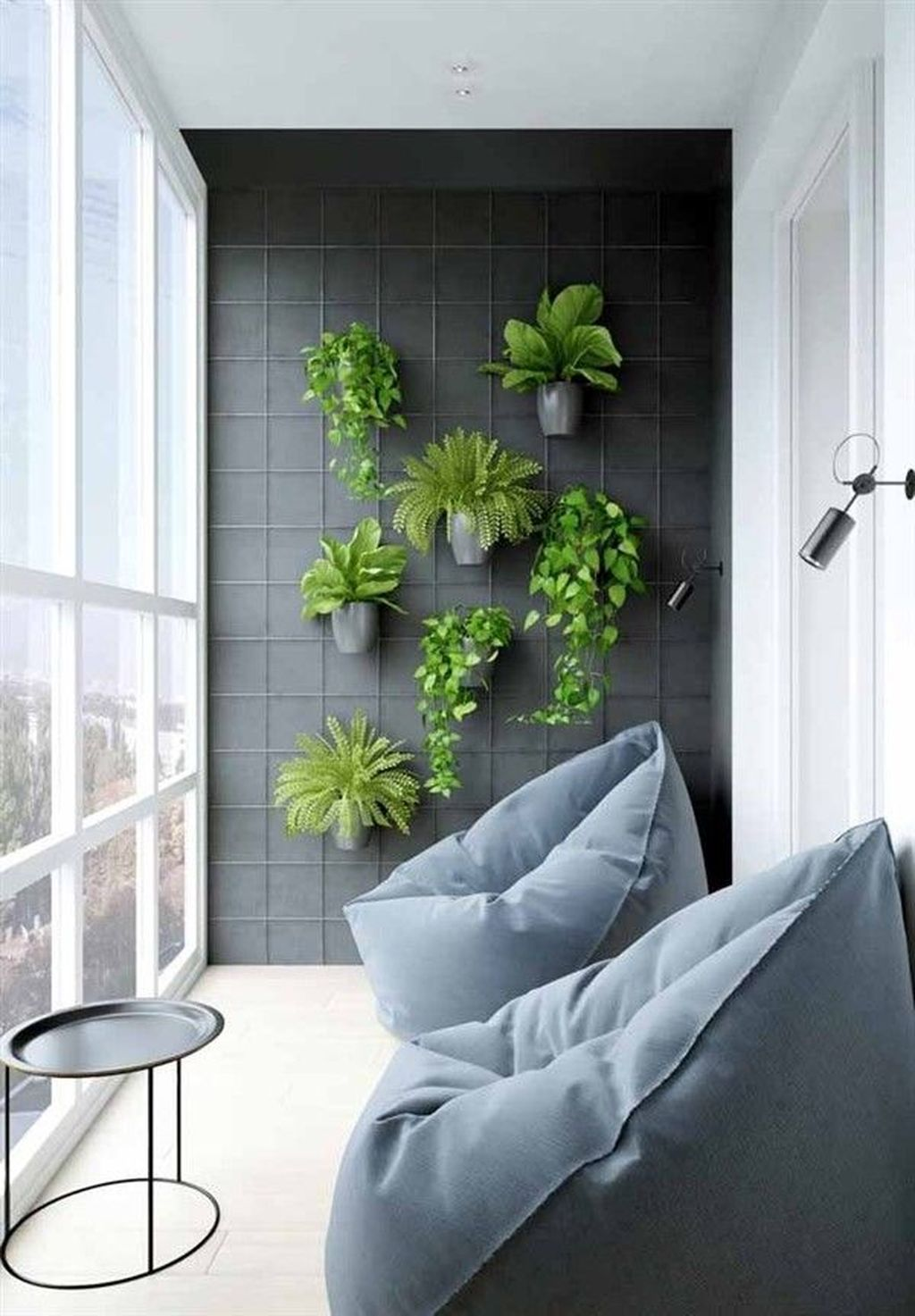Photo of 60 kleine Wohnung Balkon Garten Design-Ideen #apartmentbalconygarden 60 kleine W…