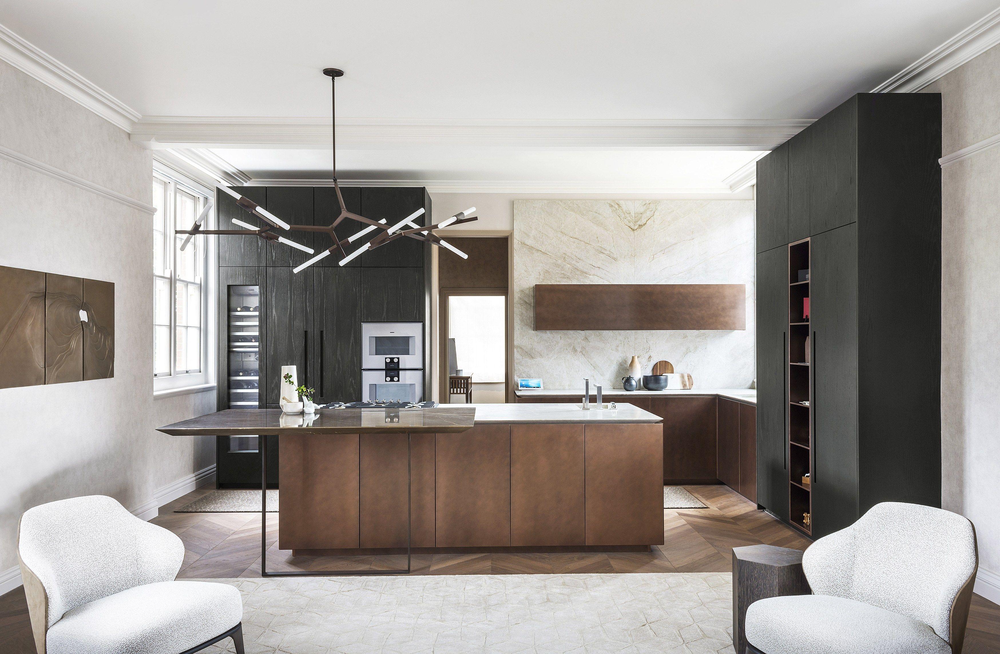 T30 / D90 | Kitchen with island By TM Italia Cucine design Emma ...
