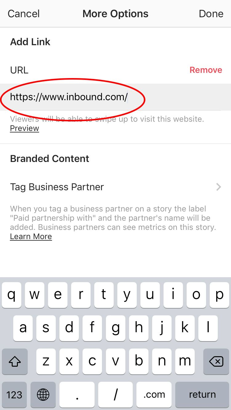 Here 39 S How To Add A Link To Your Instagram Story Pro Tip Instagram Story Ads Story