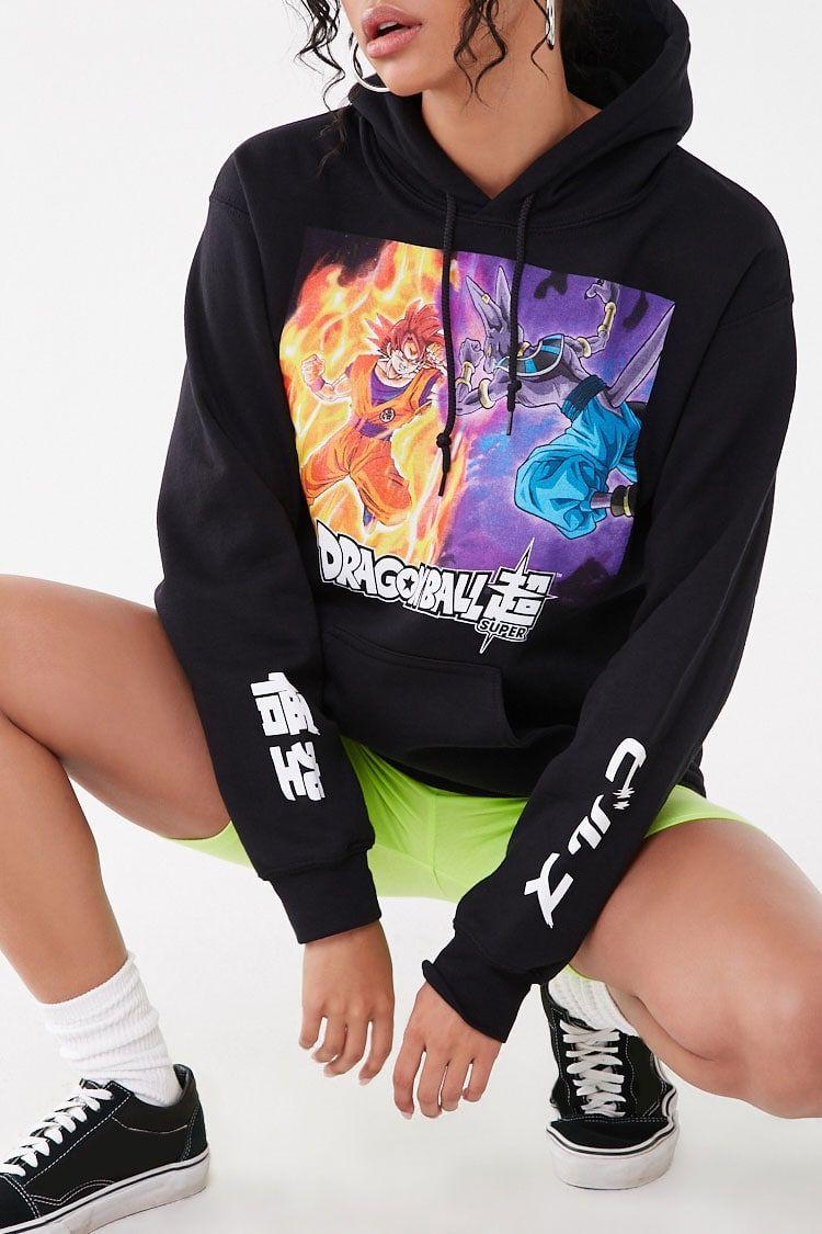 Dragon Ball Super Graphic Hoodie Hoodie Design Hoodies Graphic Hoodies