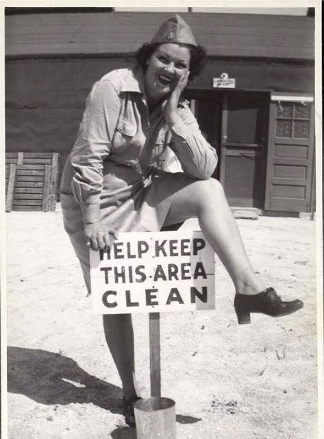 Hygiene: A girl's REAL best friend.