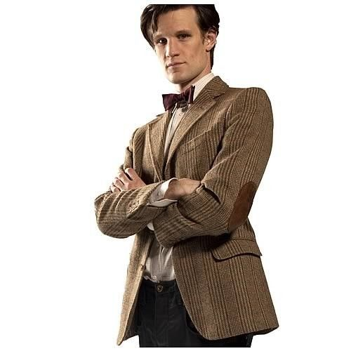 27cb503bb 11th DOCTOR WHO Licensed S/M Tweed JACKET Costume Prop REPLICA Matt ...