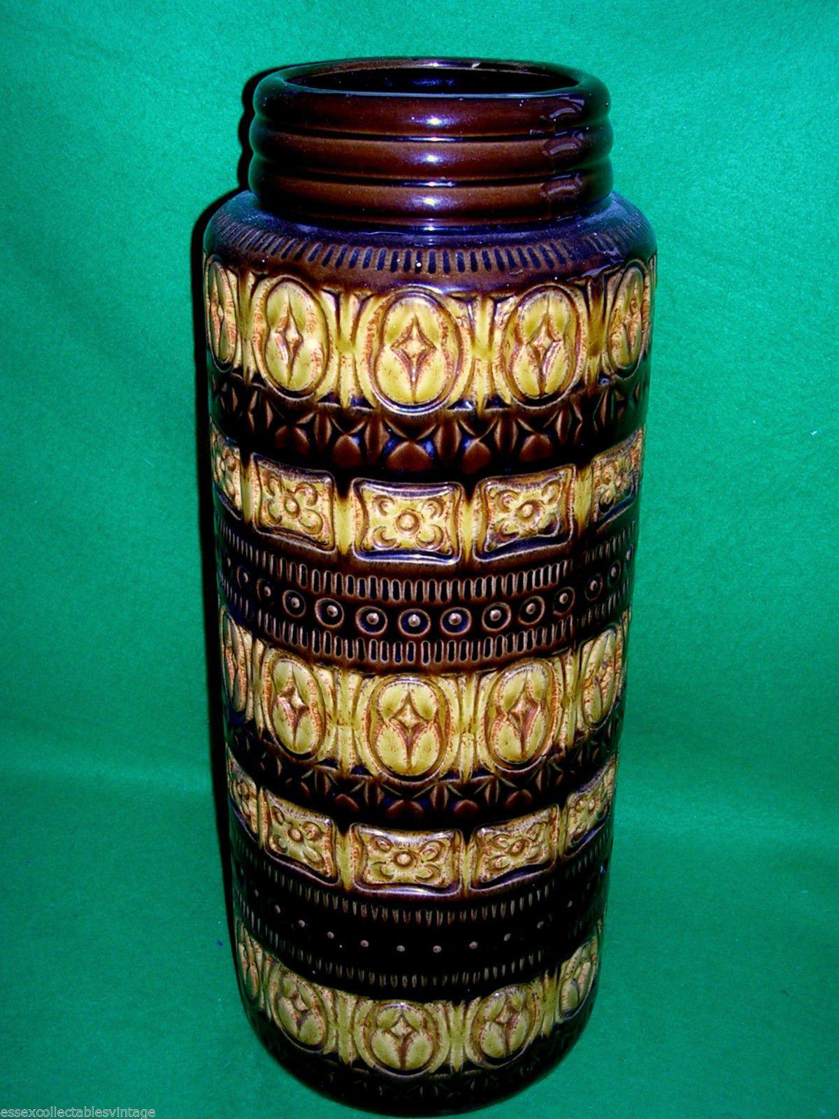 Sold vintage retro fat lava vase west german pottery vase 196070s sold vintage retro fat lava vase west german pottery vase 196070s modernist 289 reviewsmspy