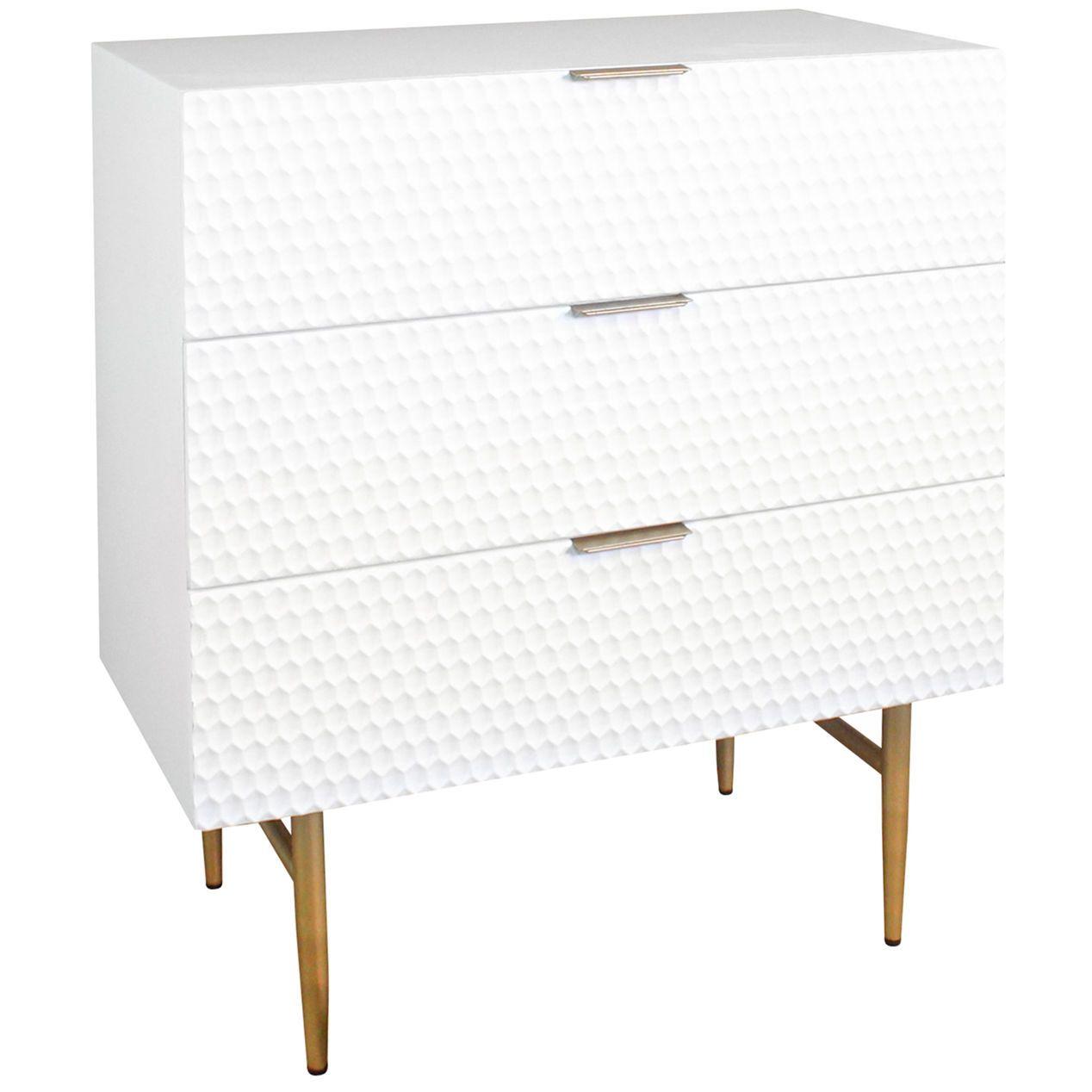 Studio Nova 3 Drawer Cabinet At Home Affordable Furniture