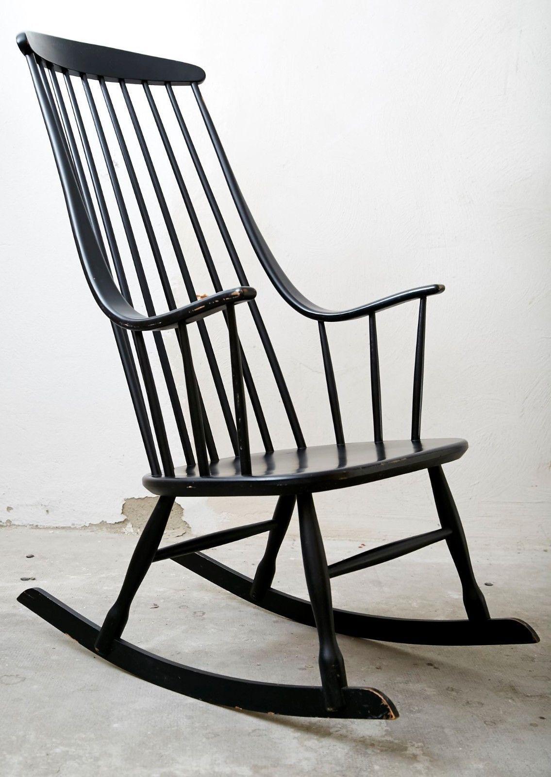 Lena larsson i bohem 2402 i nesto i rocking chair i for Ebay schaukelstuhl