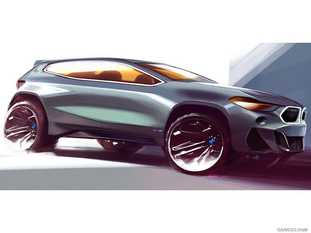 2018 Bmw X2 Wallpaper Bmw Car Car Design Sketch