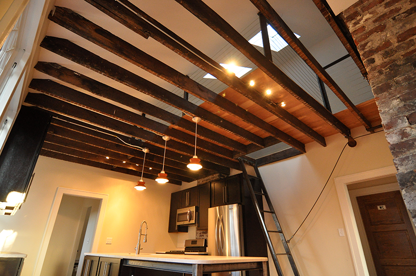 Pearson 2 Exposed Rafters Ceiling Decor House Design