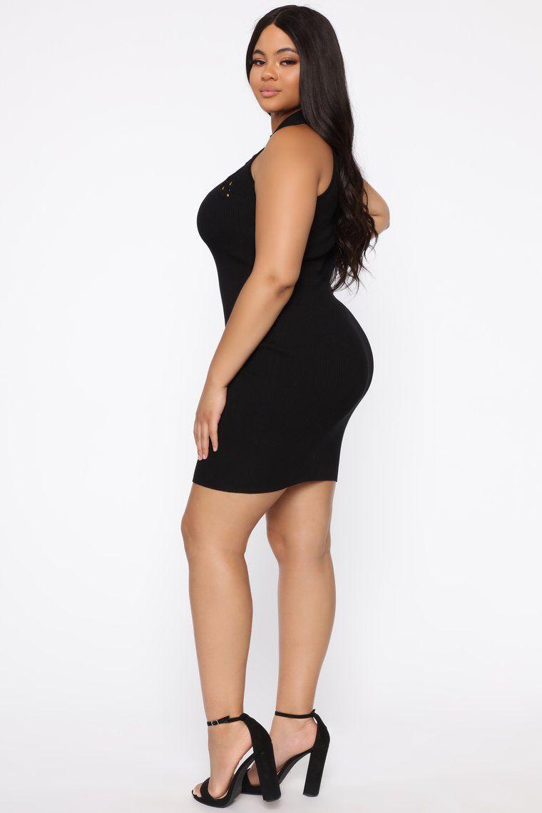 Ayesha Mini Dress Black in 2020 Fashion nova dress