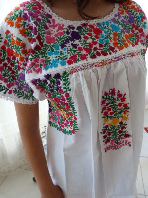 nosotros amamos los vestidos mexicanos: bata san antonio