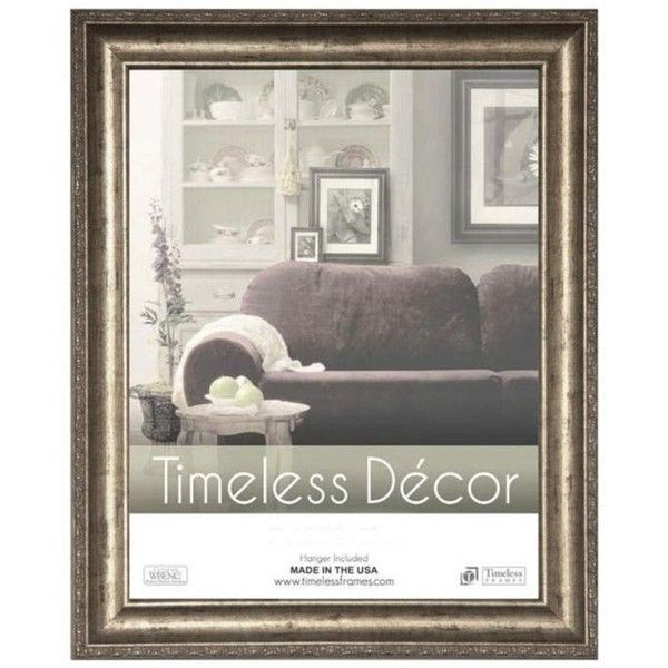 Timeless Frames Silver Milano Silver 9x12 Frame 1 450 Rub Liked On Polyvore Featuring Home Home Decor Frames Silver Silver Timeless Decor Frames On Wall