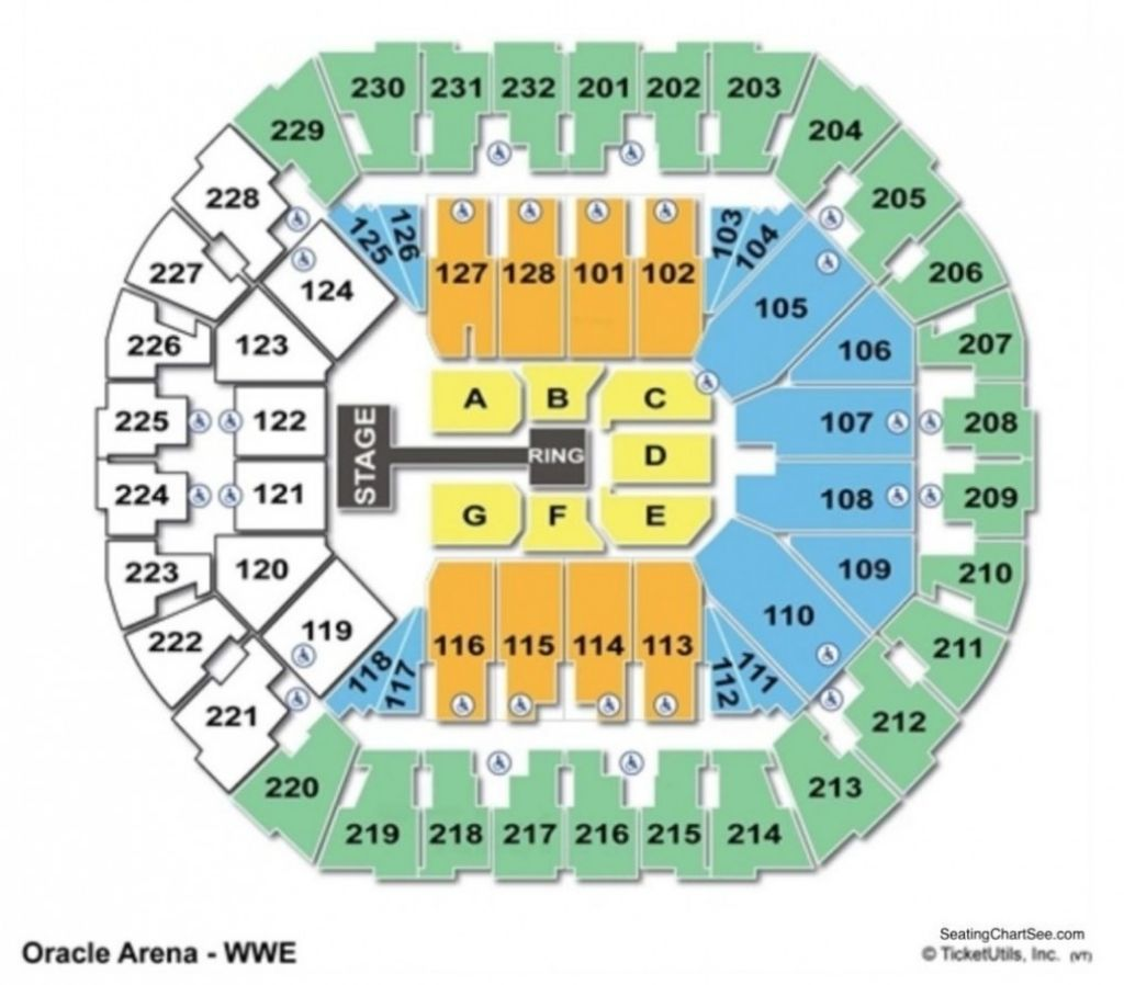 Philips Arena Seating Chart Wwe Di 2020