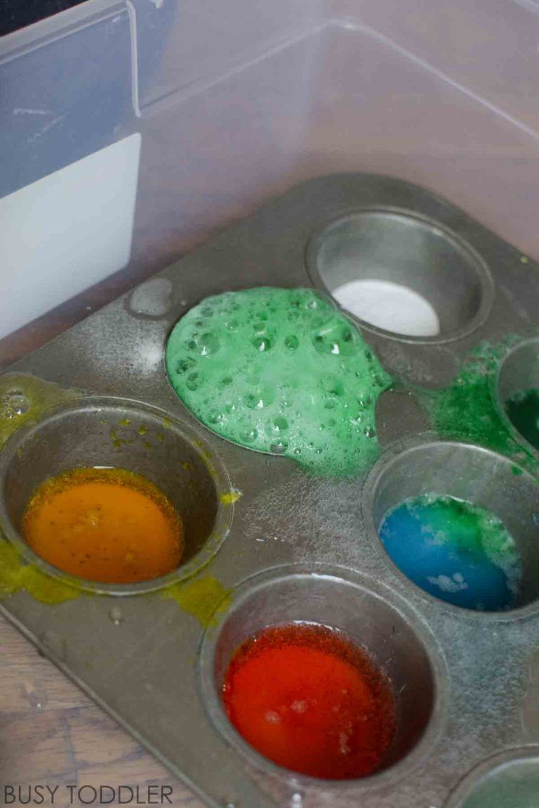 Hidden Colors - Toddler Science Experiment | Toddler science ...