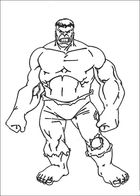Incredible Hulk Coloring Pages Printable Incredible Hulk Hulk