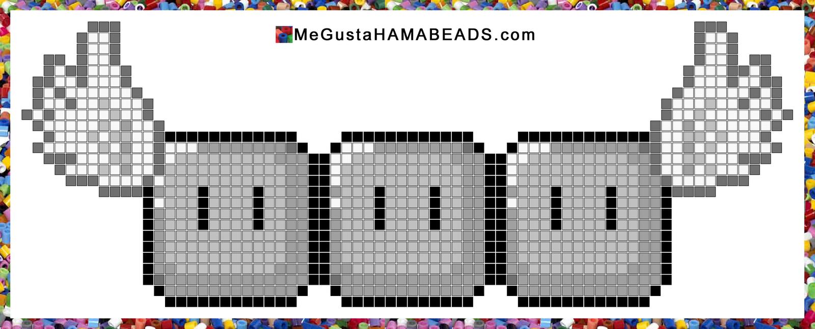 hama beads patrones flyinggreytumblocks | pattern | Pinterest | Hama ...