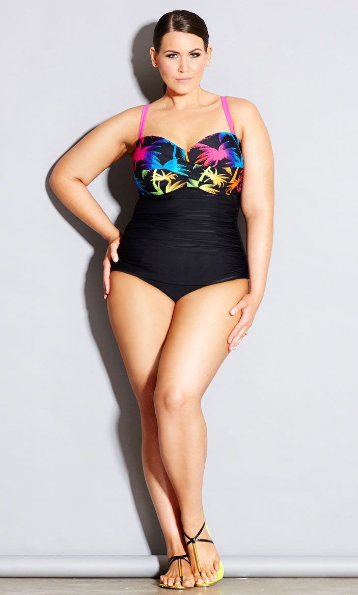 22951631ed1 City Chic IBIZA ONE PIECE - Women's Plus Size Fashion - Swim - Resort # citychic #citychiconline #newarrival #plussize #fashion