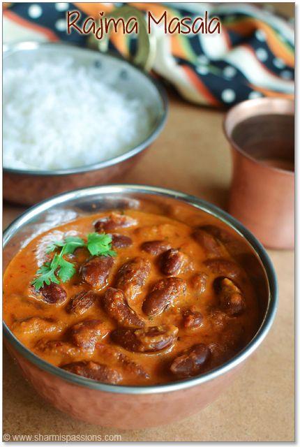 how to prepare punjabi rajma masala
