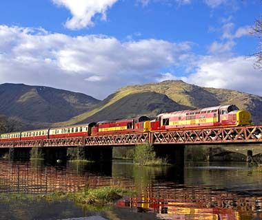 Worlds Most Scenic Train Rides West Highland Line United Kingdom