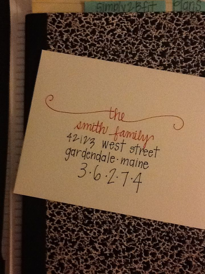 Addressed Christmas Cards.Pin On Christmas Ideas