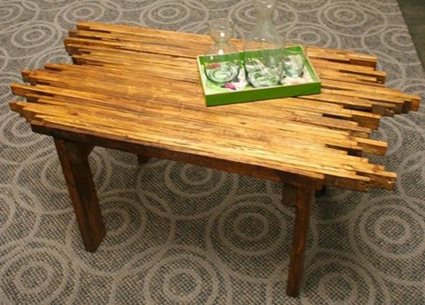 Comment fabriquer une table basse en palette ? | Table basse ...