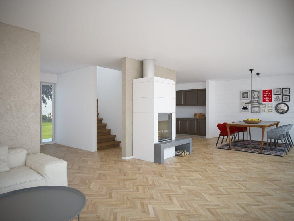 Less than $100,000 to build small house plan with open and efficient ...