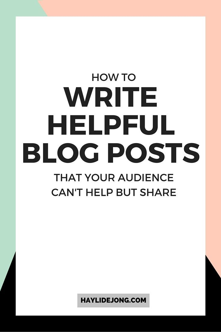 Are you stumped for what to write on your next blog post? Writing great blog posts doesn't have to be hard. Click through to learn my method for creating content that my audience shares over and over on social media.