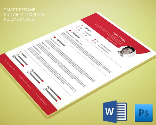 Graphic Designer Resume  Mac Resume Template  Great For More