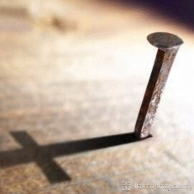 NAIL IT TO THE CROSS! Every stress, issue, concern, hurt, anxiety ...