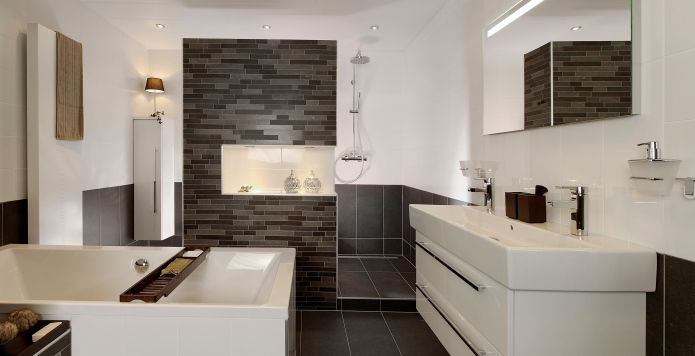 Luxe badkamers van alle gemakken voorzien bouwcenter badkamer ideeen pinterest - Badkamers ...