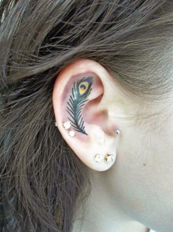 Tatuajes En La Oreja Para Mujer