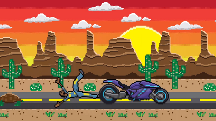 Twisted Pixel S Lococycle Coming To Xbox One At Launch Xbox One Pixel Xbox