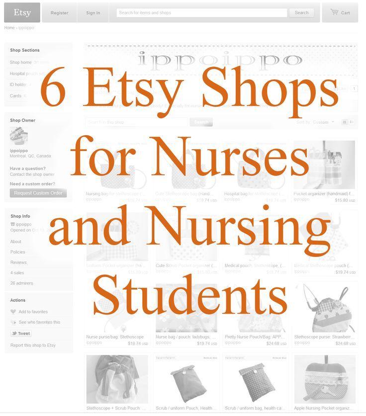 6 Etsy Shops for Nurses & Nursing Students Roseman