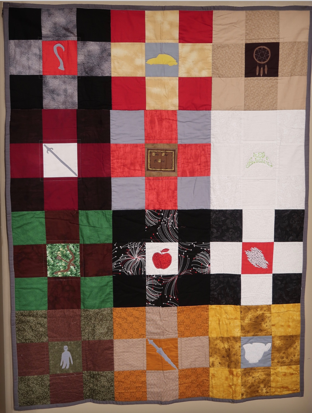 See Once Upon A Time A Quilt By Naavah Morrow Age 14 Quilts National Quilt Museum Morrow