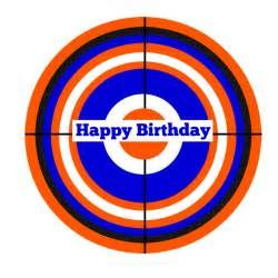 picture about Nerf Logo Printable named Pin upon Hunter Birthday