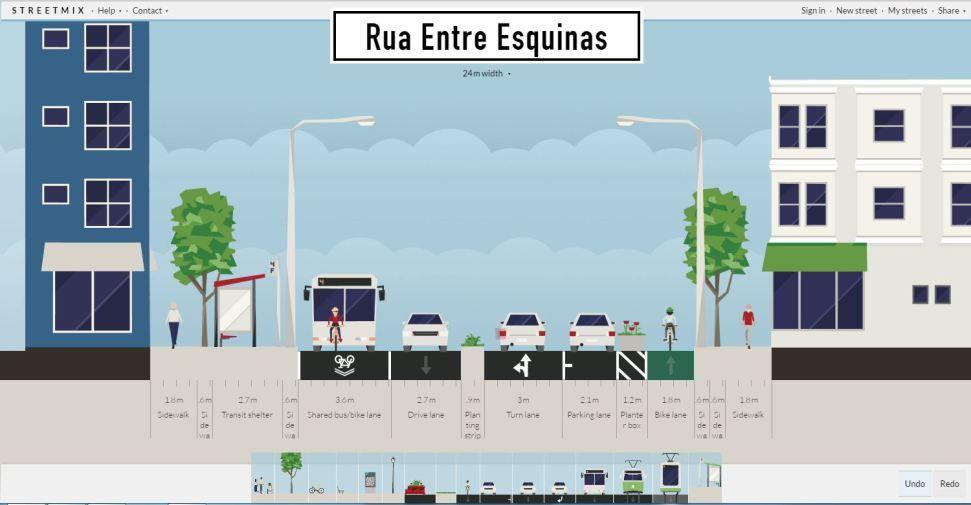 Streetmix - 15 Ferramentas úteis para Arquitetos e Urbanistas.