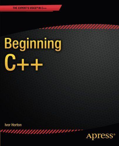 Beginning C++: emBeginning C++ /emis a tutorial for beginners in C++