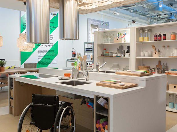 Risultati immagini per cucine per disabili | cucine disabili ...