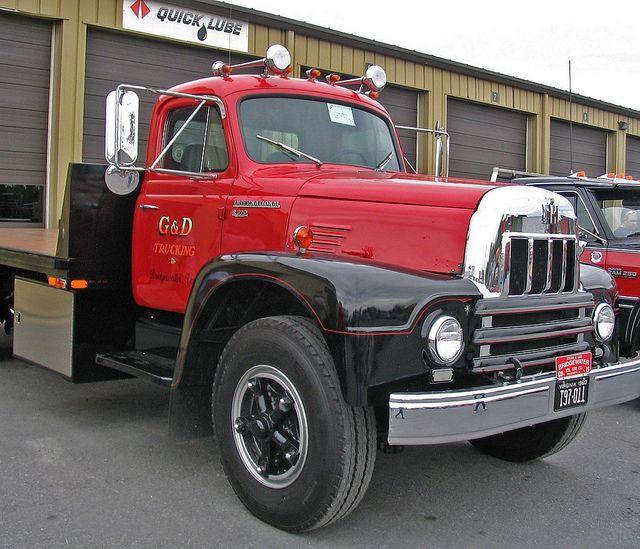 Vintage International Flatbed Truck Classic Trucks Trucks