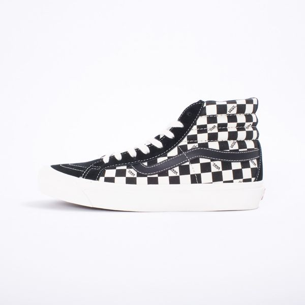 Vans Vault OG Sk8 Hi LX Checkerboard An all time classic