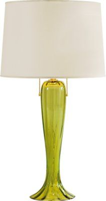 The Draped Lamp Verde Large By Barbara Barry From Baker